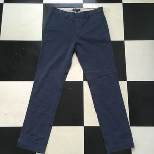 Men's Navy Banana Republic Chinos